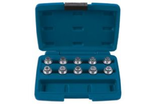 Laser 6168 Wheel Nut Key Set - BMW 10 piece